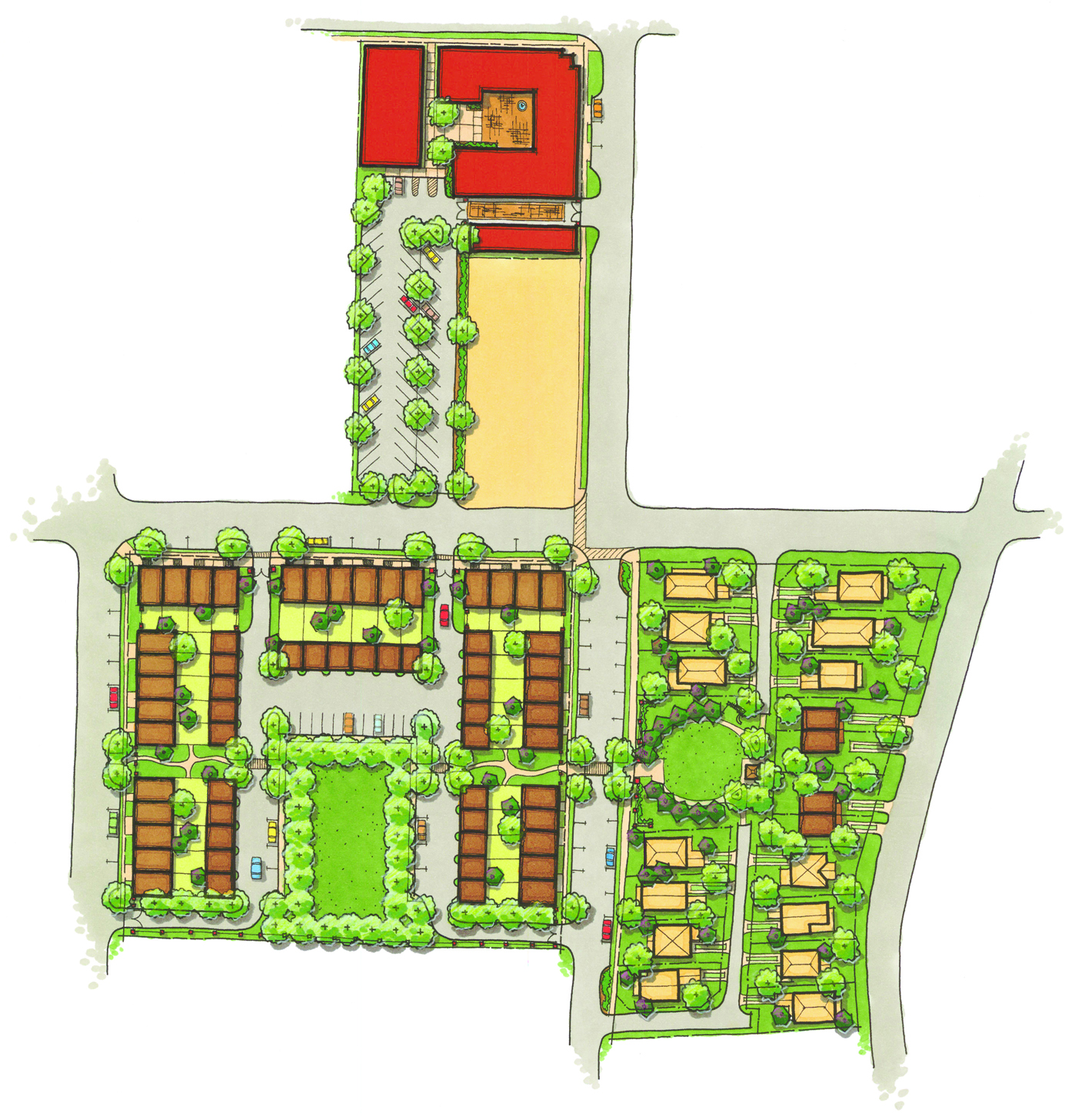 PenWest site plan trg communities