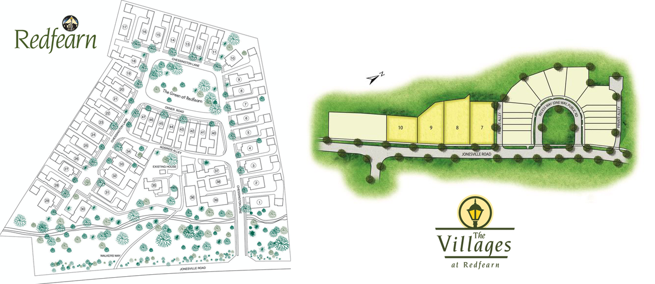 redfearn villages developement greenville sc