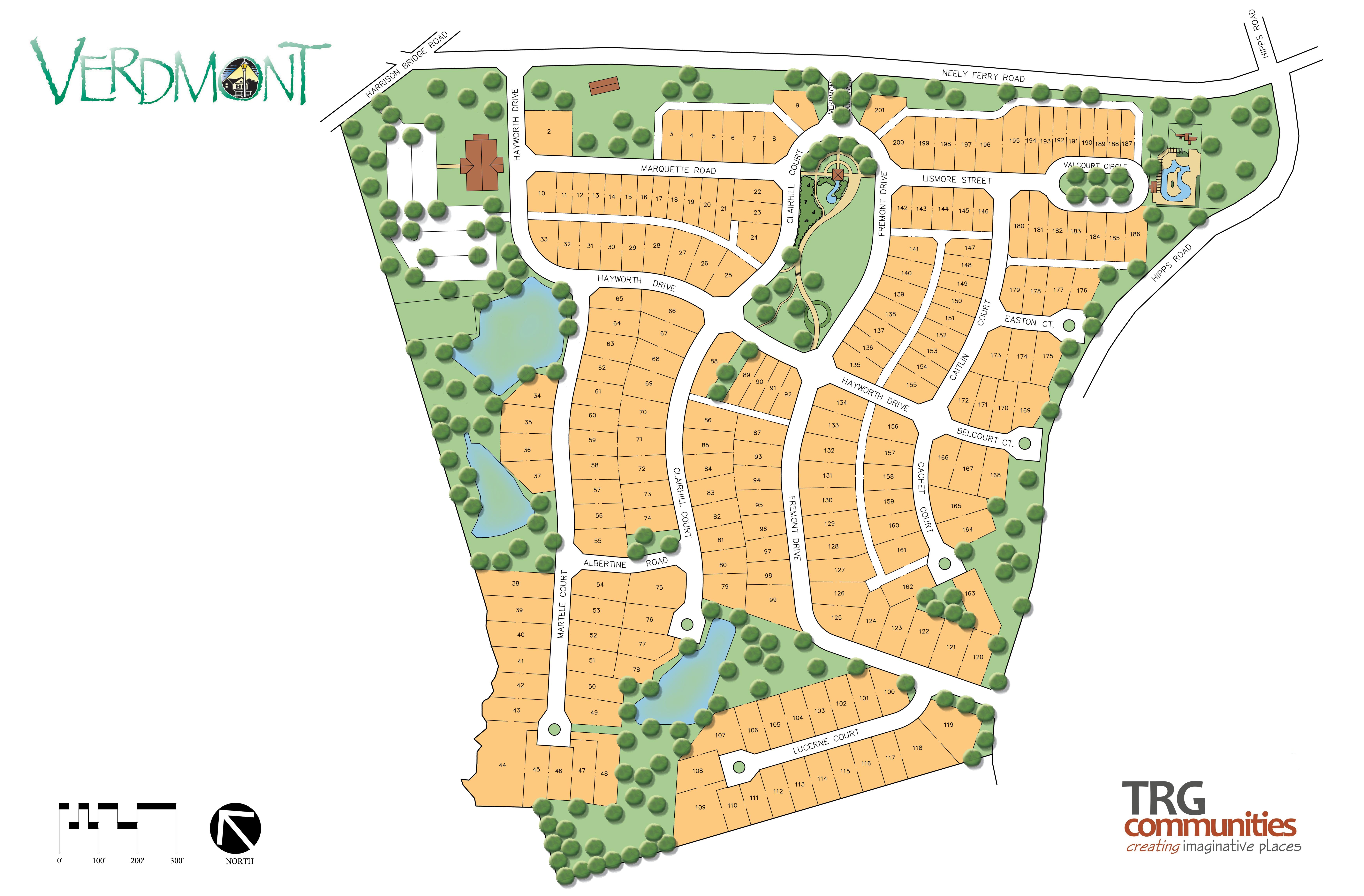 verdmont plan trg communities greenville sc