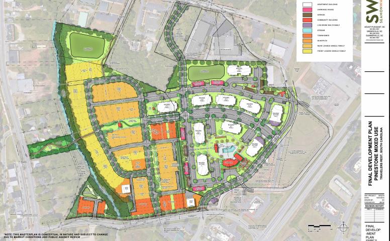 pinestone development greenville sc